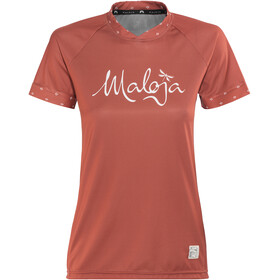Maloja SuvrettaM. Multi Bike Jersey Shortsleeve Women red